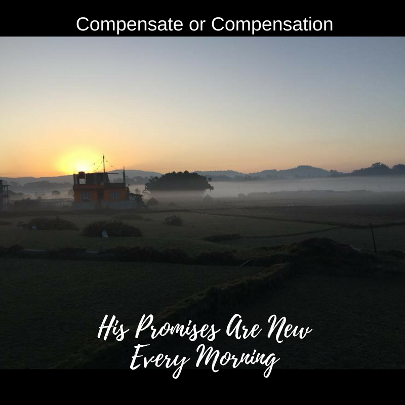 Compensate or Compensation